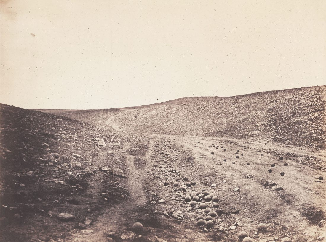 Roger Fenton, The Valley of the Shadow of Death, 1855