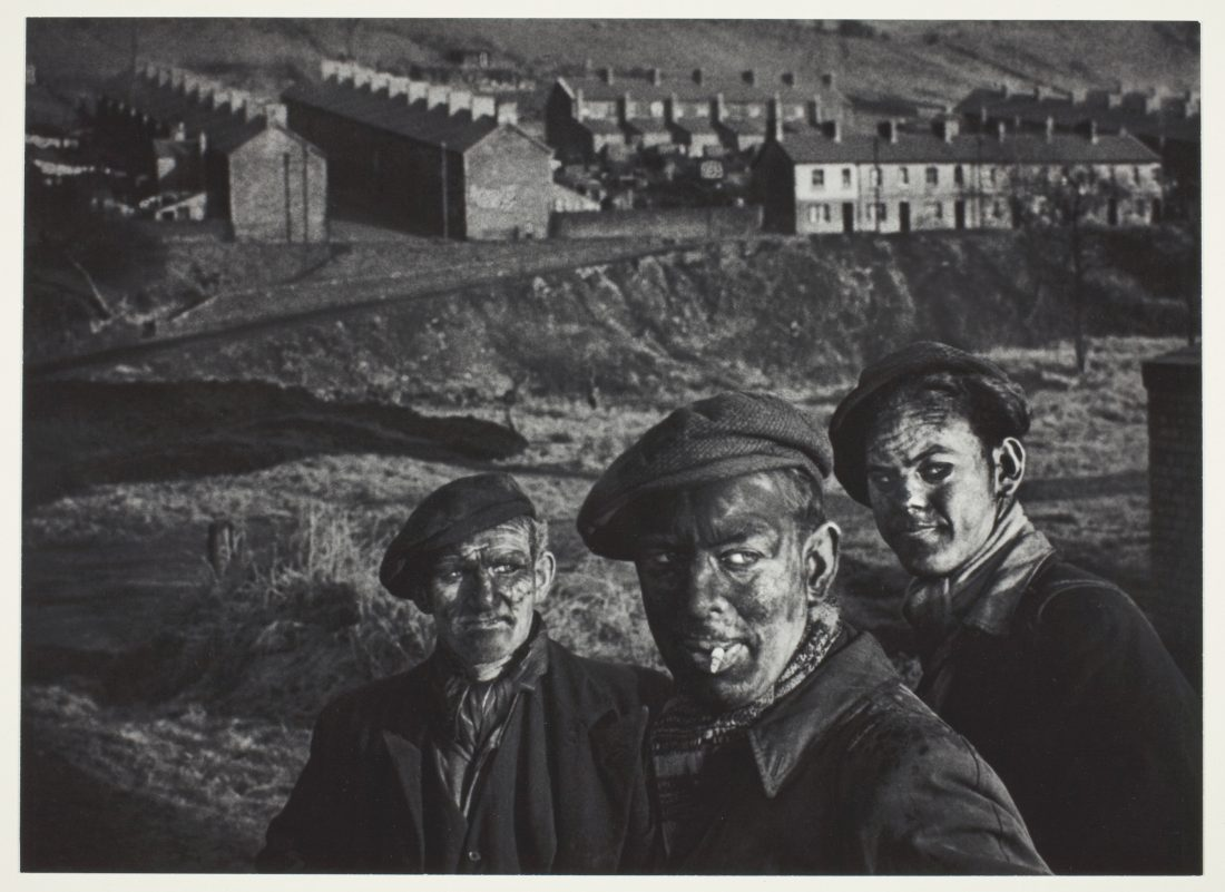 W. Eugene Smith, Three generations of Welsh miners, 1950