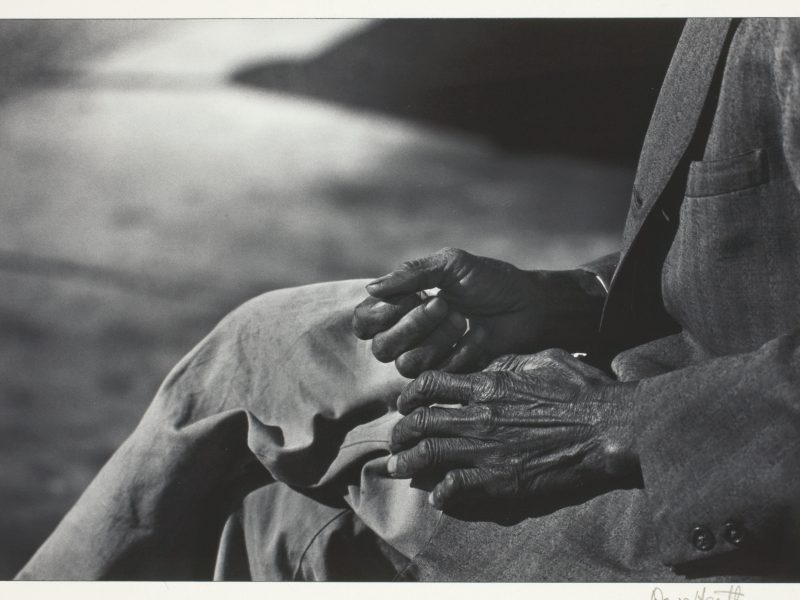 Dave Heath, Hands of a Negro, c. 1960