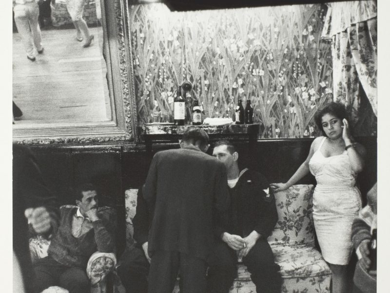 Sergio Larráin, Bar in House of Seven Mirrors, Valparaiso, Chile, 1963