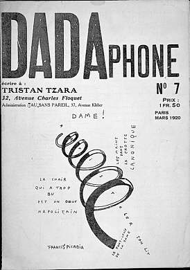 Dada Bulletin No. 7; the Chicago Art Institute