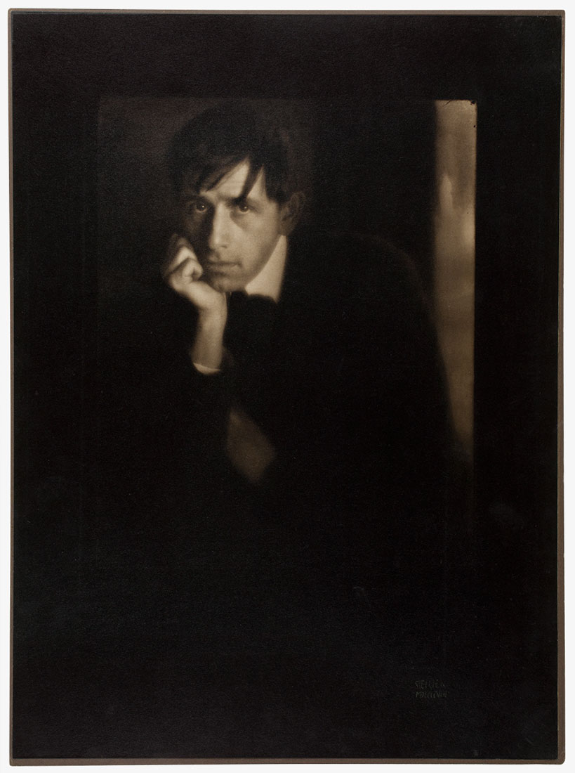 Edward Steichen, <em>Portrait of Clarence White</em>, 1908