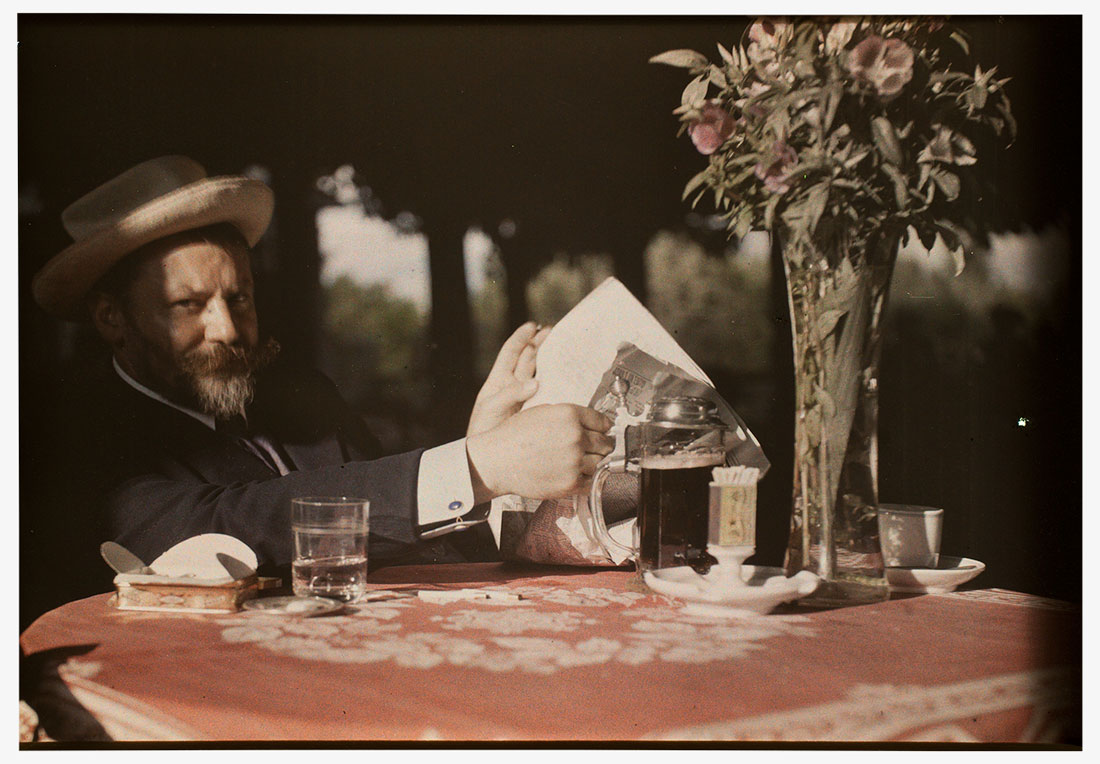 Alfred Stieglitz, <em>Frank Eugene Seated at Table</em>, 1907