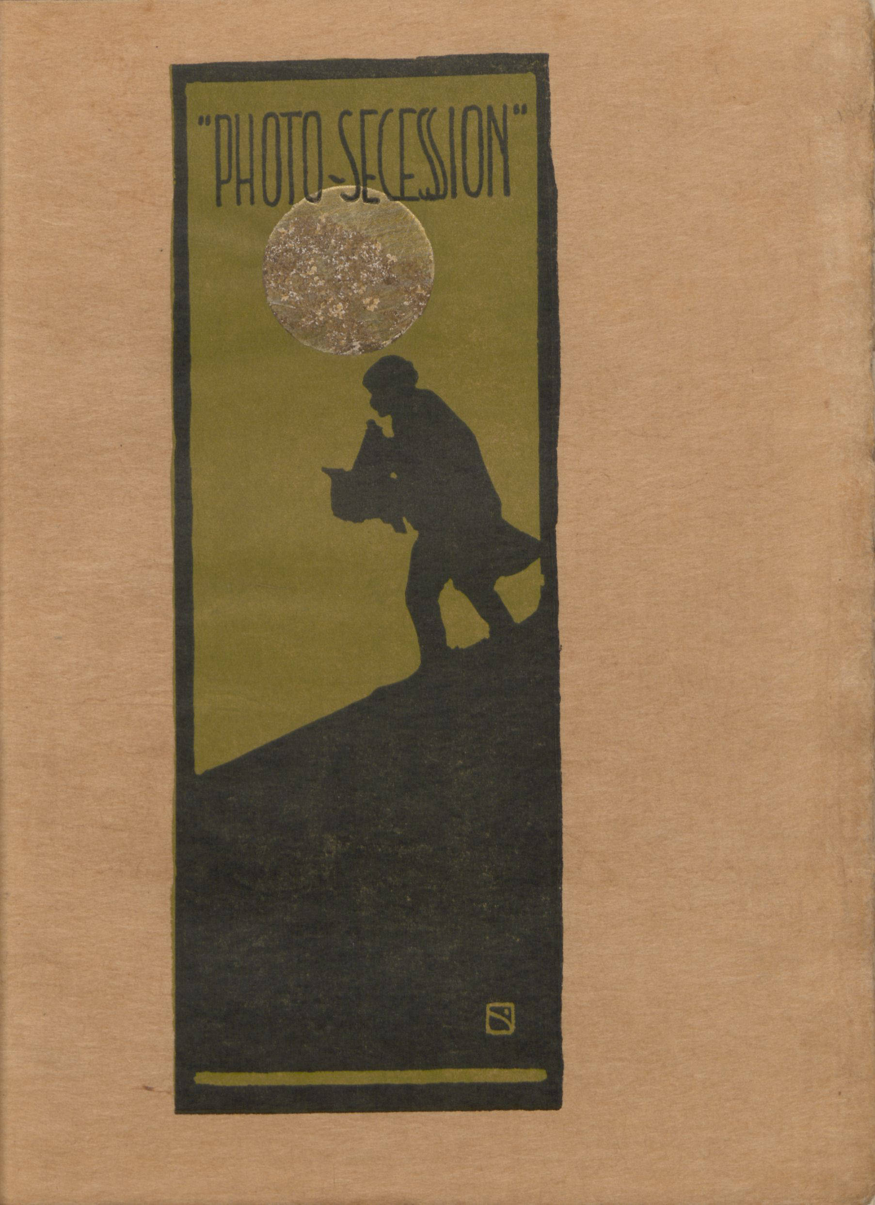 Cover of <em>The Photo-Secession</em> (1905), from the Thomas J. Watson Library