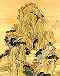 The Fanghu Isle of the Immortals (Detail)