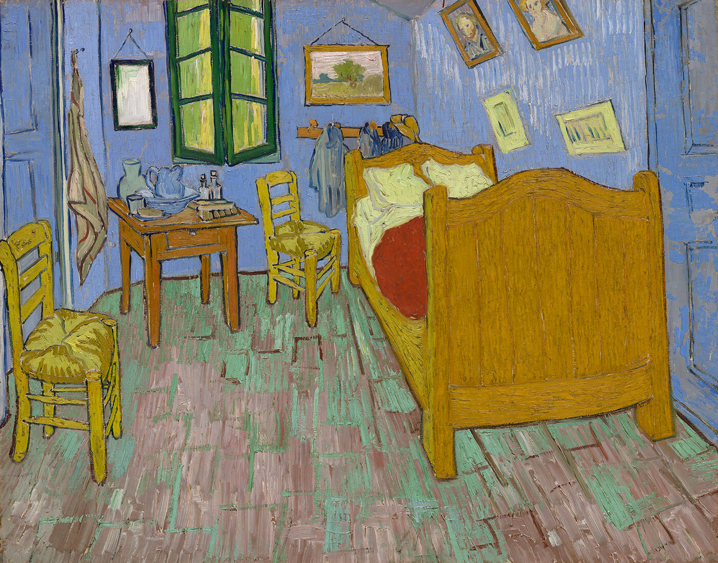 Van Gogh S Bedrooms About The Paintings